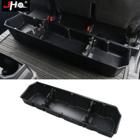 JHO 4 Door Pickup Storage Organizer Accessories Rear Row Underseat Storage Box For 2017 2019 Ford F150 Raptor 2018|Stowing Tidying| |  -