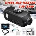 Auto Heizung 8KW 12V Air Diesel Heizung Standheizung Mit Fernbedienung LCD Monitor für RV  wohnmobil Anhänger  Lkw  Boote|Heizung & Ventilatoren|   -