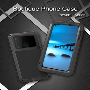Image 2 - Case For Huawei Nova 4 Cover Full Body Protection Armor ShockProof Defender  Phone Case Metal Heavy Duty Protection Cover Nova 4