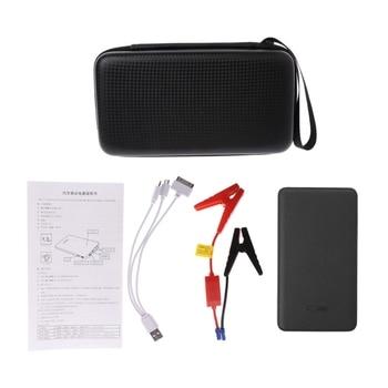 цена на 12V Portable LED Car Jump Starter Battery Charger Booster Emergency Power Bank