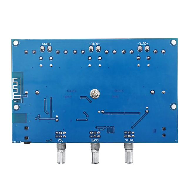 Bluetooth 5.0 TPA3116D2 Digital Power Amplifier Board 2.1 Channel 2*50W+100W Stereo Power Audio Class D Bass Subwoofer Amplifier 5