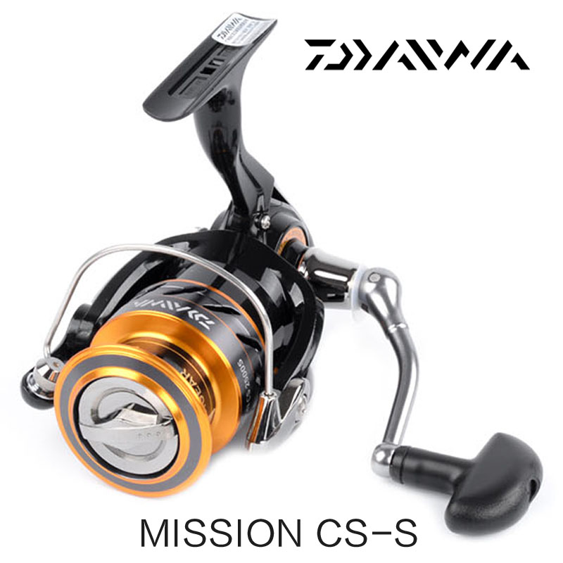DAIWA Mission CS 2000S 2500S 3000S 4000S Spinning Fishing <font><b>Reel</b></font> 3+1BB <font><b>5.3:1</b></font> Saltewater Carp Long Casting Fishing image