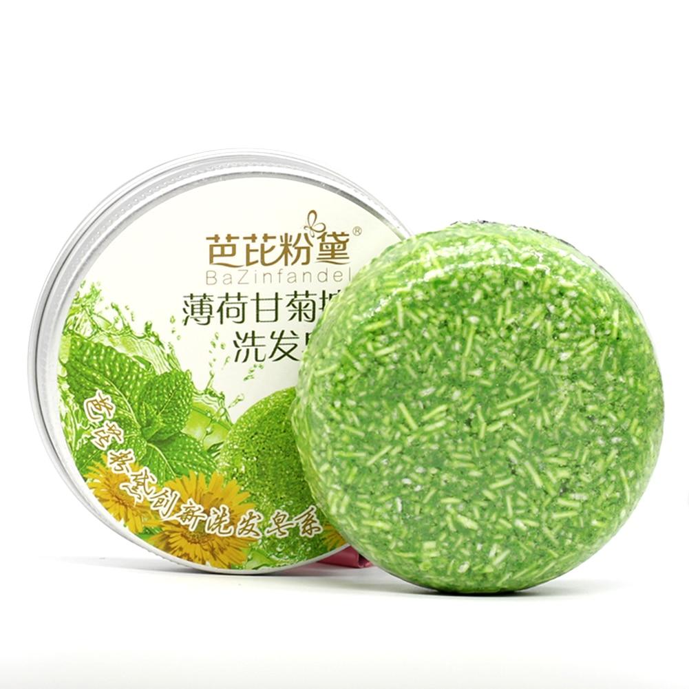 HOT Chinese Handmade Oil Control Shampoo Soap Anti-Dropping Anti-Dandruff Raising Cinnamon Shampoo Hair Soap Hair Care