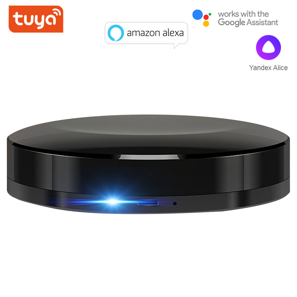 lowest price TUYA WIFI IR RF Universal Smart Remote Voice Control Alexa Google HOME Smart Home Smart Home Automation Support DOOYA
