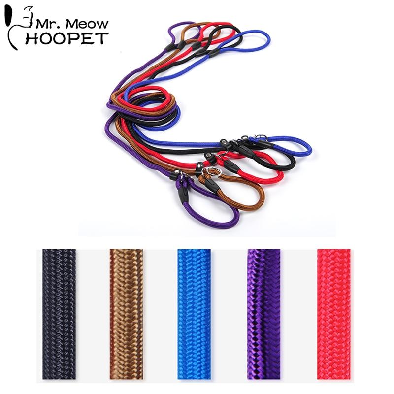 Hoopet Pet Dog Leash Traction Rope Chain Large Dog Collar P Dog Harness Comfortable Nylon Adjustable Training Leash 5Colors