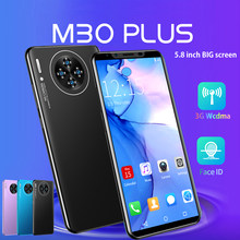 Mais barato telefone inteligente cectdigi m30 plus 5.8 Polegada tela cheia smartphone android 1gb ram + 8gb rom desbloqueado duplo sim telefone móvel