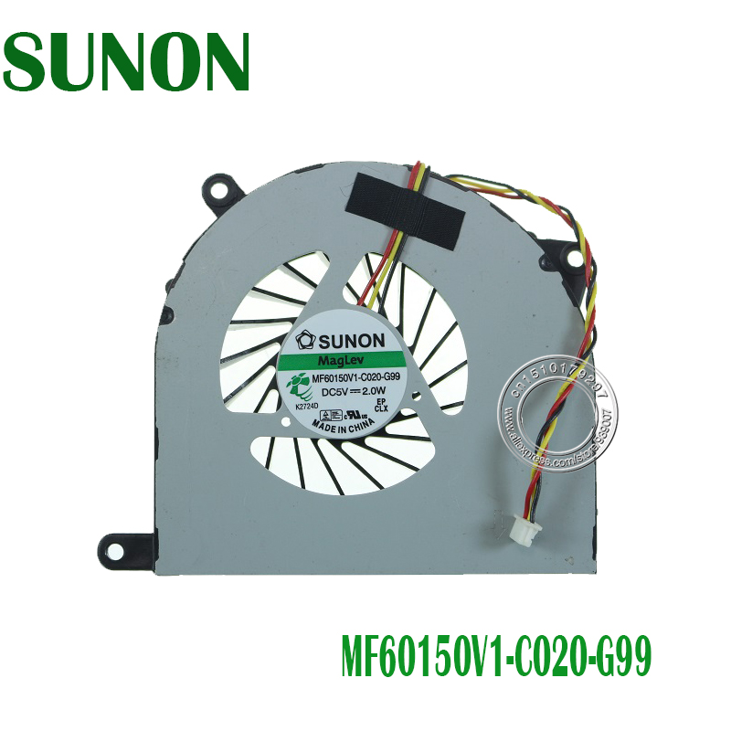 Brand New and original CPU cooling fan for <font><b>MSI</b></font> CR70 MS-1755 MS-1751 MS-1753 FR700 <font><b>FX720</b></font> CR70-0M-007FR MF60150V1-C020-G99 image