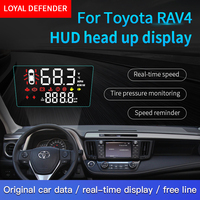 Leal Defensor HUD Cabeça Up Display para Toyota RAV4 Left-hand Drive