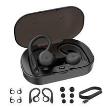 BE1018 Bluetooth 5.0 Wireless Headphones Bass Hifi Stereo In-Ear Earphone Earbud Sport Noise Cancelling Heads