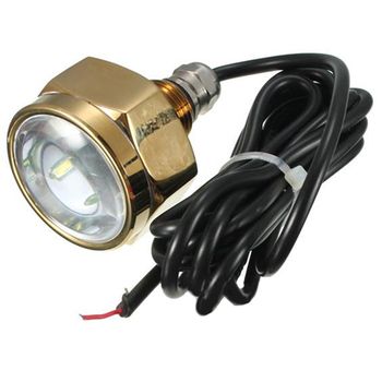 IP68 9 LED 27W underwater light ship speedboat yacht Waterproof Light Light color: white