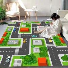 Мультяшный ковер balle домашний декор детские коврики для детской