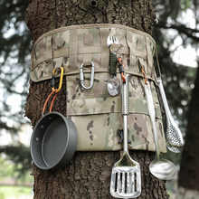 Camping Picnic Portable Tool Storage Outdoor Tool Camouflage Storage Bag EDC Tool Hanging Bag