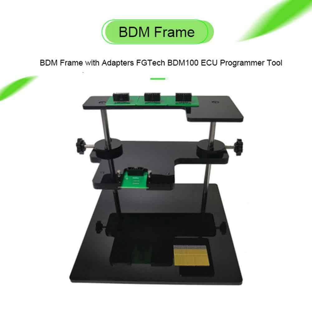 New BDM Frame With Adapters FGTech BDM100 ECU Programmer Tool Lowest Price