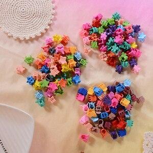 10/50 шт. Милая заколка принцессы заколки для волос для девочек цветок кролик животные заколки для волос Детские аксессуары для волос красота стиль искусственные