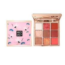 9 Colors Eye Shadow makeup Palette Baked Shimmer Matte nude Eyeshadow Waterproof Glitter Powder Beauty Cosmetics novo 18 colors nude eyeshadow palette shimmer matte pressed eye shadow powder makeup glitter palette lasting eyes cosmetics