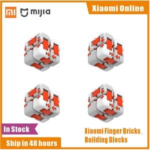 Image 1 - Chính Hãng Xiaomi Mitu Cube Spinner Ngón Tay Gạch Khối Xây Dựng Ngón Tay Fidget Di Động Trí Thông Minh Đồ Chơi Quà Tặng Cho Trẻ Em Trẻ Em