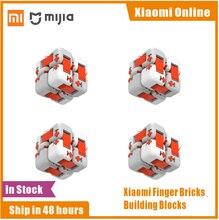 Original Xiaomi Mitu Cube Spinner doigt briques blocs de construction doigt Fidget Portable Intelligence jouets cadeau pour enfants enfants