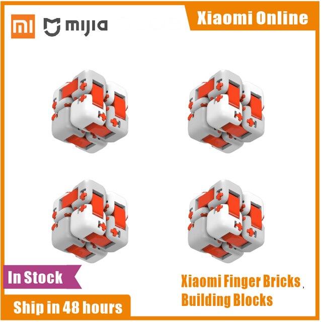 מקורי Xiaomi Mitu קוביית ספינר אצבע לבני אבני בניין אצבע לקשקש נייד מודיעין צעצועי מתנה לילדים ילדים