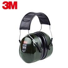 3M H7A Noise Cancelling Ohr Muffs Gehörschutz Lärm Reduktion Sicherheit Ohrenschützer für Ohr Schutz Einstellbar & Professionelle
