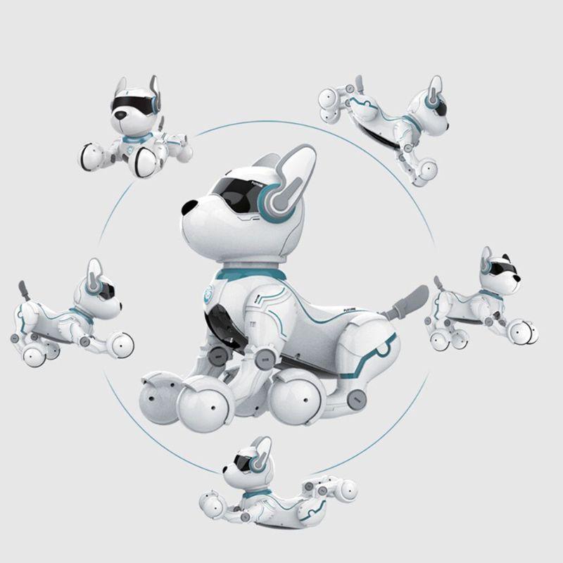 Controle remoto robô brinquedo do cão para