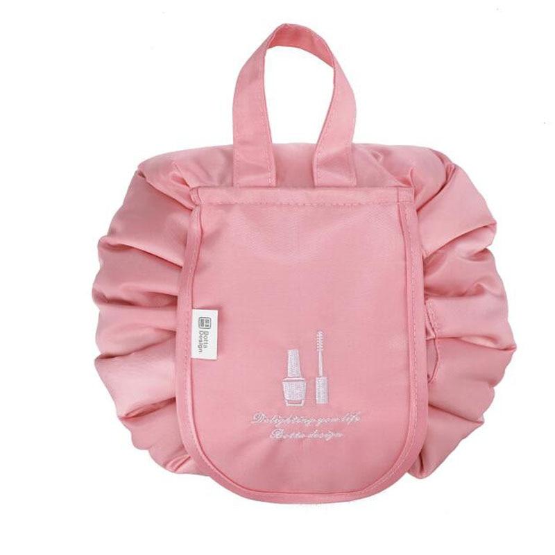 Ladies Drawstring Cosmetic Bag Multifunction Makeup Tool Bags Travel Cosmetic Bag Storage Bag Cosmetics Beauty Kit Storage Bag