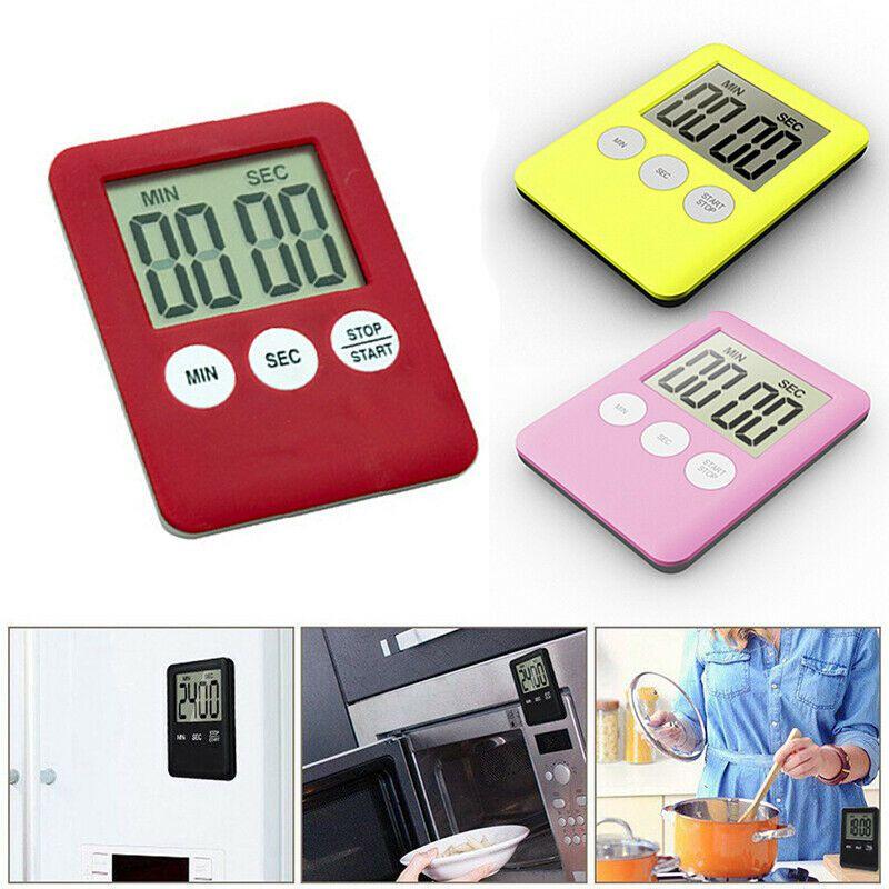 Precise Electronic Digital LCD Wall Clock High-quality Countdown Timer Bathroom Waterproof Shower Timer