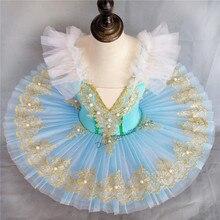 Costume de Ballet professionnel pour fille, Tutu classique, robe de danse, pour enfant et adulte