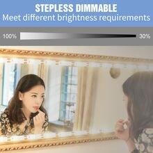 С регулируемой яркостью макияж зеркало светодиодный светильник