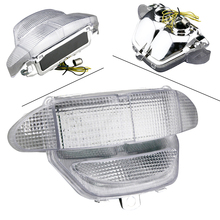 E Mark Integrated LED Tail Light Turn Signals for Honda 1998 1999 CBR900RR Clear Motorcycle Parts