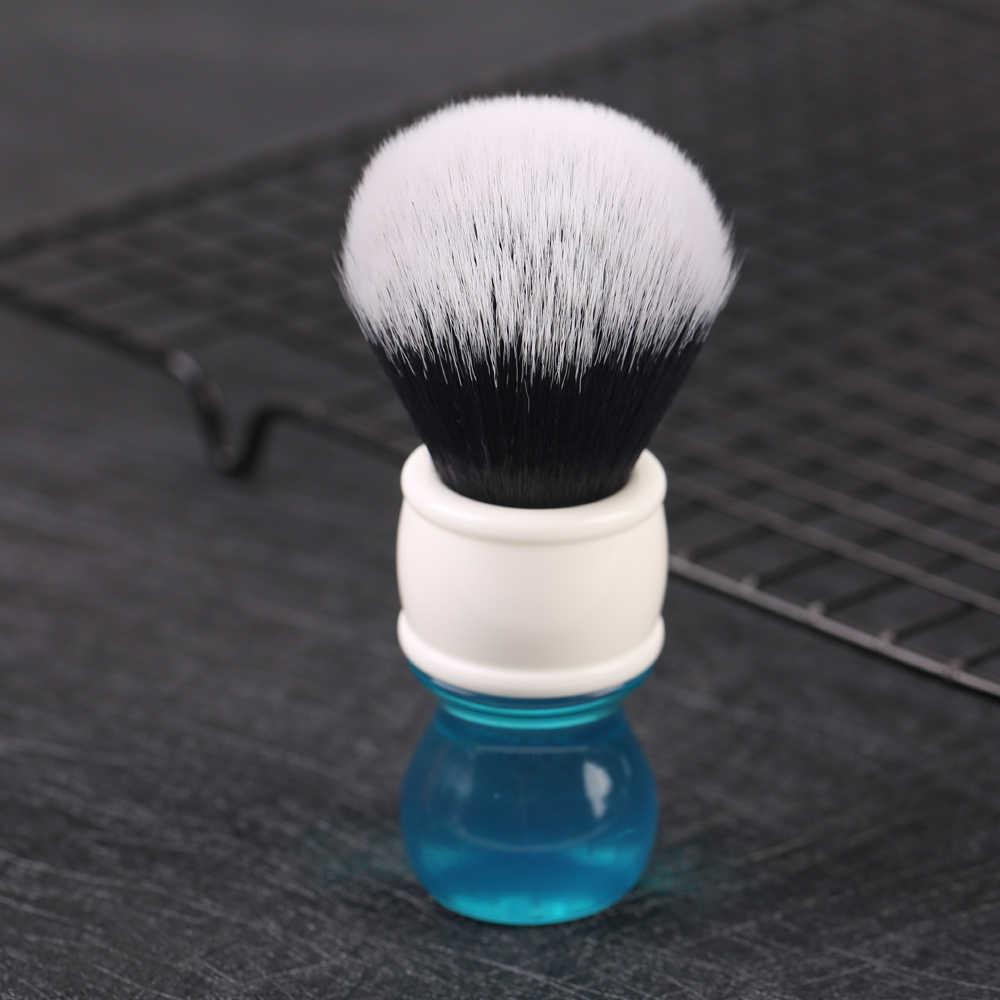 Yaqi 24mm aqua smoking cabelo sintético escova de barbear