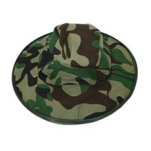 Bucket Hats Outdoor Jungle Camouflage Military Bob Cotton Mountaineering Hat Camo Bonnie Fishing Camping Barbecue