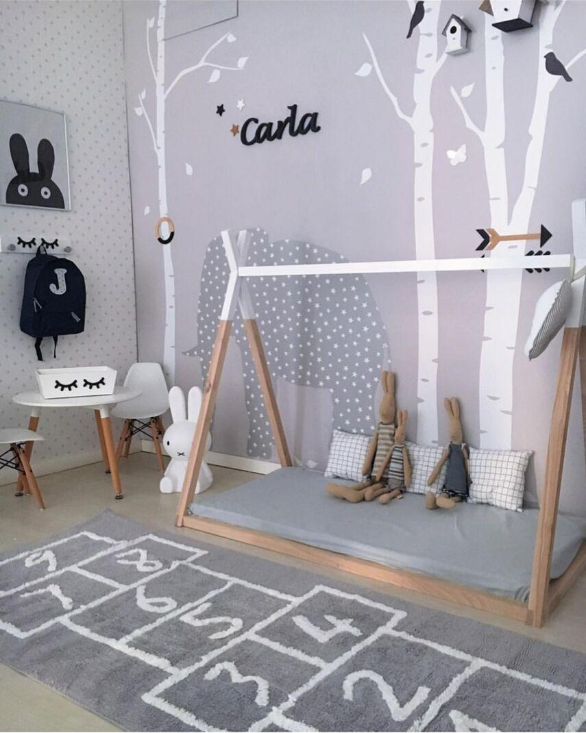 INS Nordic Cotton Checkers Decorative Mat Children's Play Mat Children's Home Soft Floor Mat Photography Props