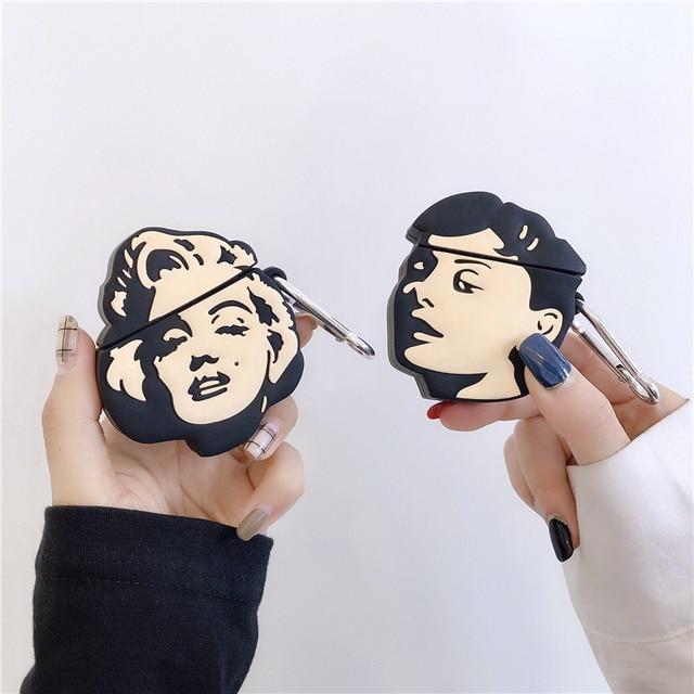 Marilyn Monroe AirPod Case