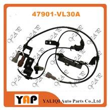 ABS センサー滑り止めリア LH ため FITNISSAN ピックアップフロンティア NP300 D22 D23 VG33E KA24DE YD25 3.3L 2.4L 2.5L 4WD 47901 VL30A 2001