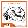 SENSOR ABS trasero antideslizante LH para FITNISSAN PICKUP FRONTIER NP300 D22 D23 VG33E KA24DE YD25 3.3L 2.4L 2.5L 4WD 47901 VL30A 2001