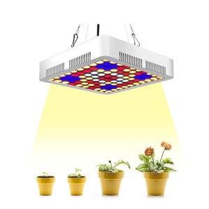 Image 1 - 300W LED grow light full spectrum phyto plant growth lamp for indoor Vegetable seedling Flower seedling tent fitolampy
