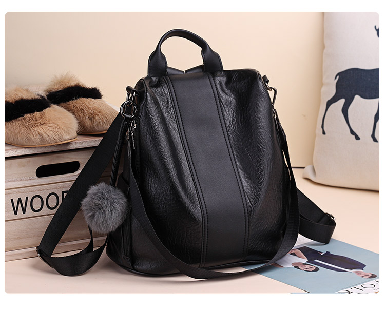 Hacfcb06fbe904fc799711e9a9dfed091z 2019 Women Leather Anti-theft Backpacks High Quality Vintage Female Shoulder Bag Sac A Dos School Bags for Girls Bagpack Ladies