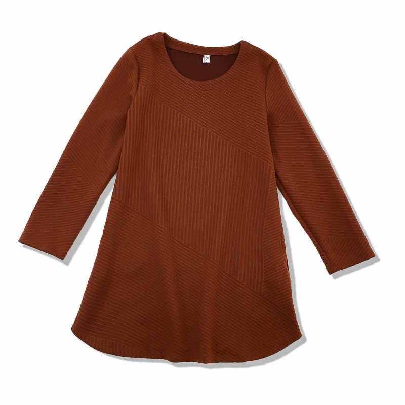 Automne hiver Mini robes de base femmes mode à manches longues décontracté bureau dame de base porter petite robe noire tunique Design S023
