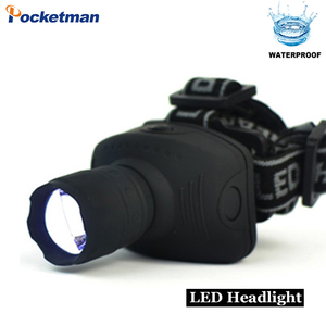 Image 3 - 2000 lumen LED Scheinwerfer Leistungsstarke Taschenlampe Frontal Laterne Zoomable Scheinwerfer Taschenlampe Licht Zu Bike Für Camping Jagd Angeln