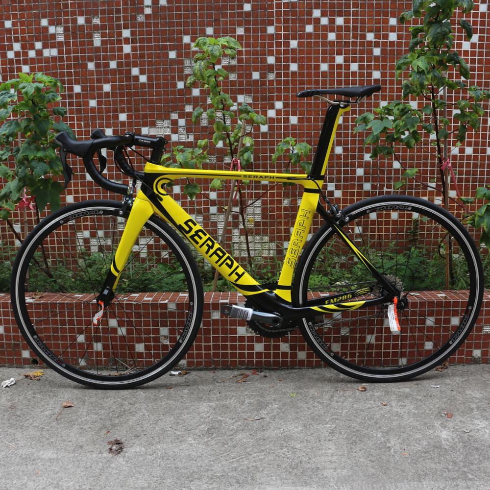 Aero Carbon Road Complete Bike Aluminium Wheel With 22 Speed Shiman0 105-R7000 Groupset Custom Paint FM268