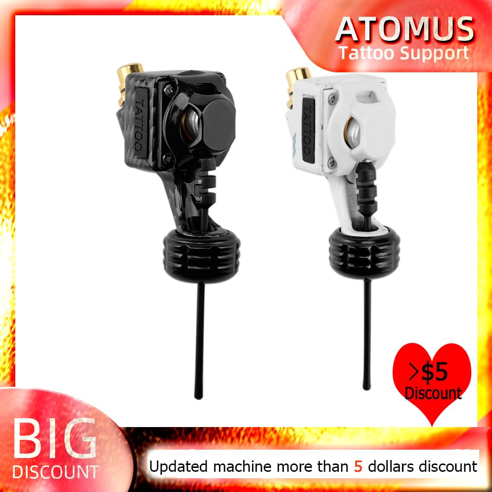 ATOMUS Rotary Tattoo Machine Rotary Tattoo Gun Liner Shader with clip cord for Tattoo Supply Permanent Makeup Lip Body