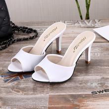 Verão salto alto sandálias senhora bombas clássicos deslizamento em sapatos sexy mulher sapatos de festa ouro prata casamento estilintes rt5