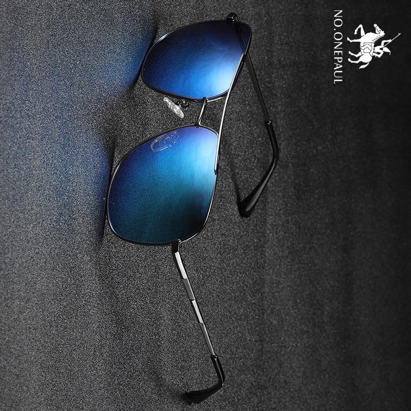 NO.ONEPAUL Male Sun Men Polarized Sunglasses Classic Men Retro Shades Brand Designer Sunglasses UV400 Eyewear Accessories