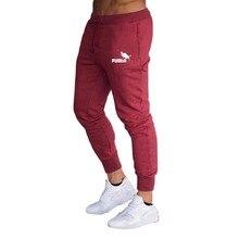 Calças de moletom esportivas masculinas novas calças de corrida fitness Calças de ginástica slim para musculação calças de ginás