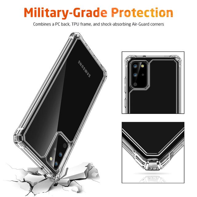 Samsung Galaxy S20 Plus Ultra Air Armor Transparent Back Case Cover