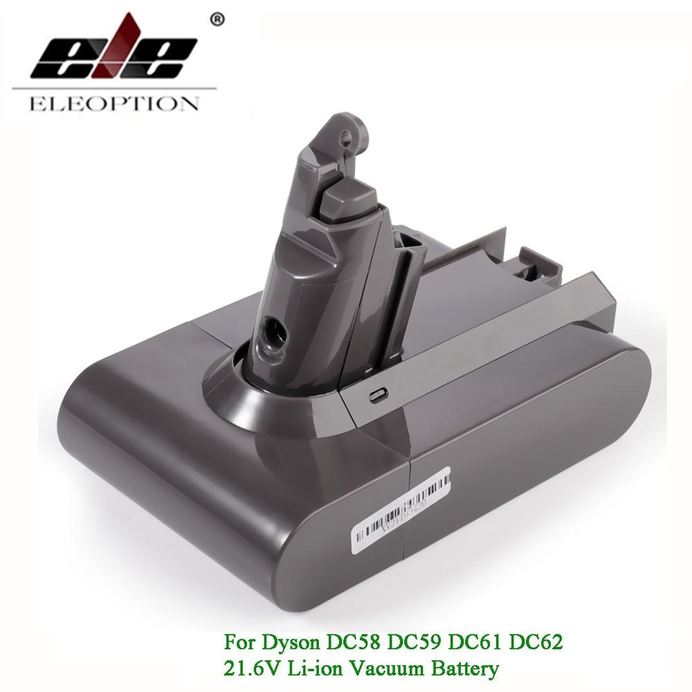 Bateria para Bateria para Dc58 Li-ion v Dc59 Dc61 Dc62 Aspirador Dyson Sv09 Sv07 Sv03 Sv04 Sv06 Sv05 v6 21.6 Mah 3000