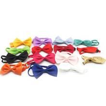 30 шт мягкие галстуки бабочки для собак милые регулируемые щенков