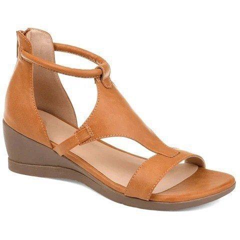 Temperament Wedge Women's Shoes Open Toe  5