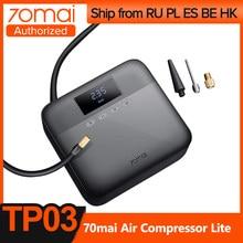 70mai compresseur d'air Lite Original DC 12V numérique pneu gonfleur pompe à Air pour voiture moto pneu gonfleur pompe Auto pneu Pumb