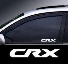 Para 2 x crx logotipo fenster grafik adesivo farben auswahl